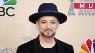 Dior Homme Pilih Boy George Jadi Bintang Iklan