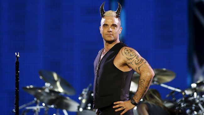 Robbie Williams Tawarkan Diri Wakili Rusia di Eurovision