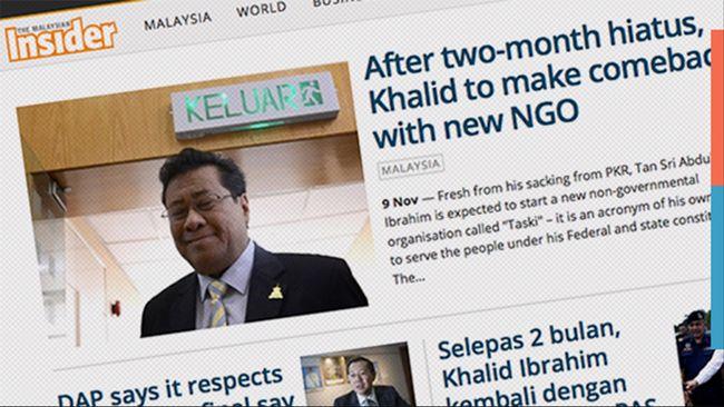 Media Diblokir, Malaysia Seperti Era Orde Baru di Indonesia