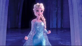 Musim Dingin Ekstrem di AS, Polisi Tangkap Elsa 'Frozen'