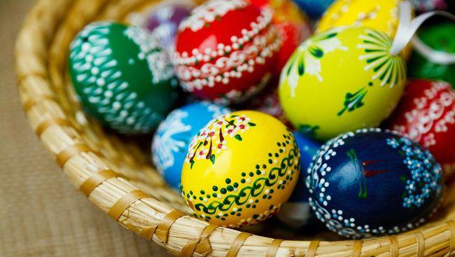 Legenda Maria Magdalena Tradisi Telur Paskah Hias Di Dunia