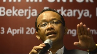 Bahlil Minta Jokowi Lindungi Kepala Dinas Perizinan di Daerah