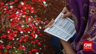 Pemakaman DKI Maret 2020 Tertinggi dalam 10 Tahun Terakhir