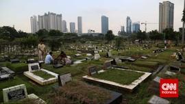 Pemakaman DKI Melonjak Tinggi, Tembus 4.377 Sepanjang Maret