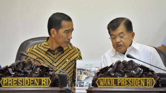 Jokowi dan JK Belum Pernah Bahas Perombakan Menteri