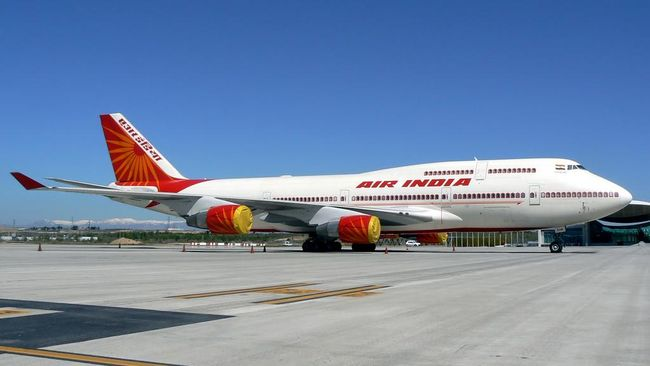 Terlilit Utang, Seluruh Saham Maskapai Air India Dijual