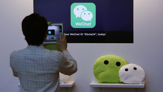 BI Fasilitasi WeChat Pay Kerja Sama dengan Bank Lokal   Utak