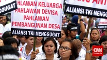 Buruh Migran Harap Debat Capres Bahas Perlindungan TKI