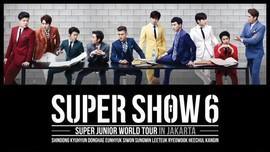 Tiket Konser SuJu di Jakarta Sudah Terjual 60 Persen