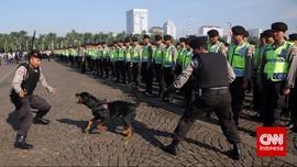 Ribuan Personel Polisi Siap Jaga KAA di Jakarta