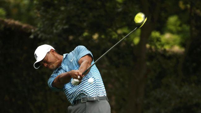 Tiger Woods Optimistis Bisa Menang di Turnamen Masters