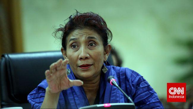 Menteri Susi Curhat Pencurian Ikan di Forum Ekonomi Dunia