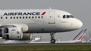 Ancaman Bom di Toilet, Air France Mendarat Darurat di Kenya