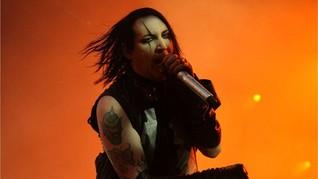 Marilyn Manson Ambruk saat Konser di Texas