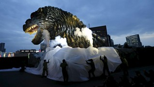 Godzilla Didaulat jadi Duta Wisata di Jepang