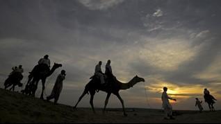 Arkeolog Temukan 'Gerbang Neraka' 9.000 Tahun di Arab Saudi