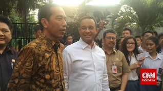 Jokowi Ingatkan Anies: Jakarta Mahal Kalau Sakit, Pak Gub