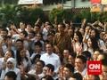 Jokowi, Anies dan Ahok Tinjau UN di SMAN 2 Jakarta
