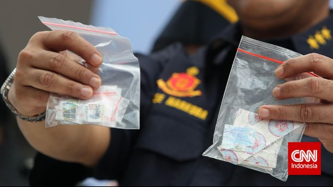 Pidana Narkotik di Tubuh Polri Meningkat 221 Persen