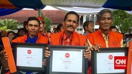 Penemu Serpihan AirAsia Jadi Anggota Kehormatan Basarnas