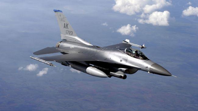 Jet F-16 AS Jatuh Lagi saat Latihan di Jerman