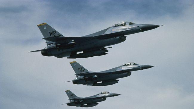Penambahan Pesawat Tempur F-16 Perkuat Lanud Pekanbaru