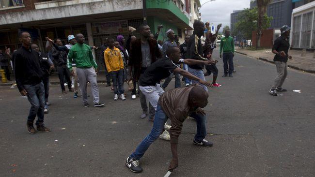 Lima Orang Tewas dalam Bentrokan Anti Imigran Afrika Selatan