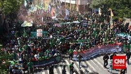 Foto-Foto Aksi Protes Bonek Tolak Kehadiran PSSI