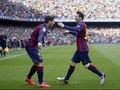 Valencia Gagal Penalti, Barca Unggul 1-0 di Babak I