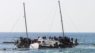 Kapal dari Indonesia Karam di Malaysia, 9 Orang Tewas