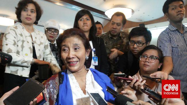 Ekspor Perikanan Naik Signifikan, Menteri Susi Merinding