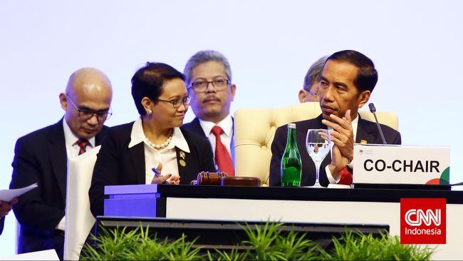 Presiden Jokowi: Dukungan Parlemen Sangat Penting di KAA