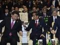 Jokowi Tagih Jepang dan Tiongkok Soal Kereta Cepat di KAA