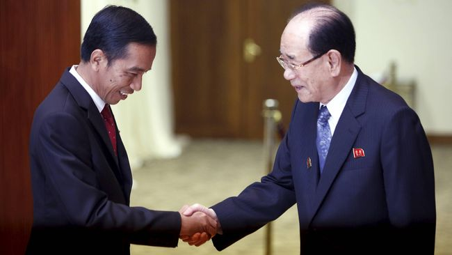 Selama KAA, Jokowi Adakan 15 Pertemuan Bilateral