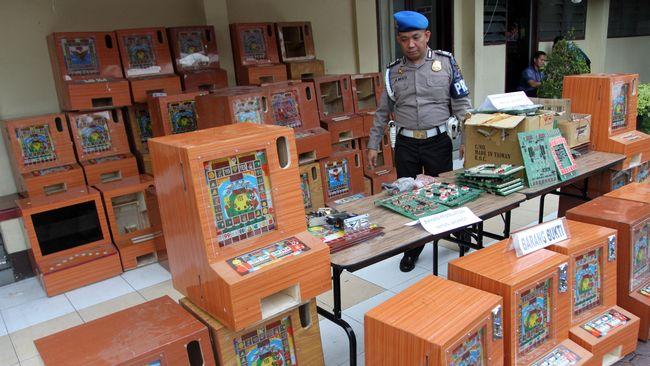 Polisi Bongkar Sindikat Judi Beromzet Rp600 Juta