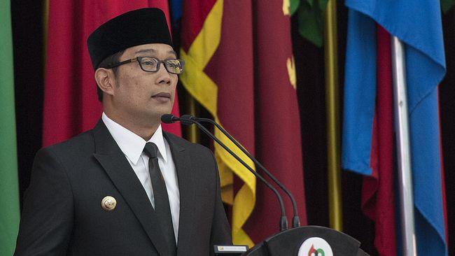 Ridwan Kamil dan 8 Gubernur Dilantik Jokowi Hari Ini