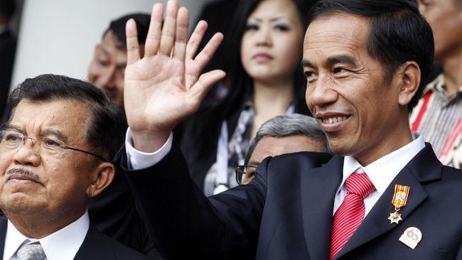Jokowi Diterima PM Malaysia dalam Gala Dinner KTT ASEAN