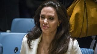 Angelina Jolie Tak Tutup Kemungkinan Jadi Capres AS