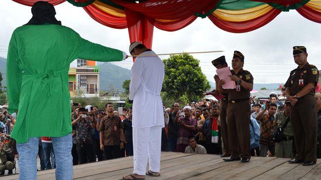 Pemerkosa Anak Terancam Dihukum Cambuk di Aceh