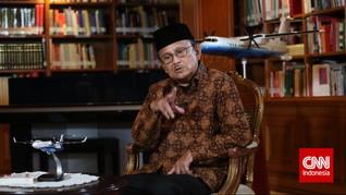 Cerita Pertemuan Habibie dengan Tiga Cagub Jakarta