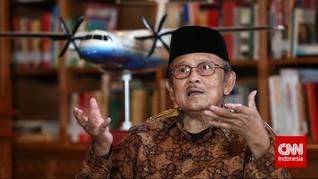 Jasa BJ Habibie untuk Sepak Bola Indonesia