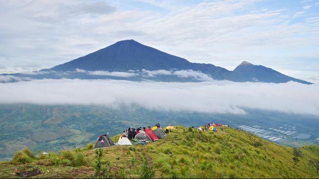 Warga Malaysia Korban Gempa Lombok Capai Puncak Rinjani