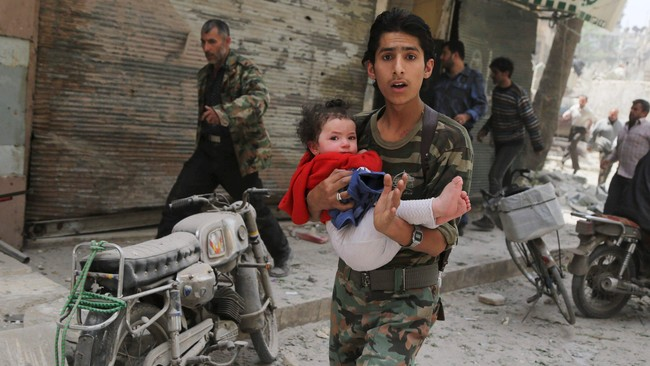Tragedi Suriah Tewaskan 19 Orang, 6 Diantaranya Anak-anak