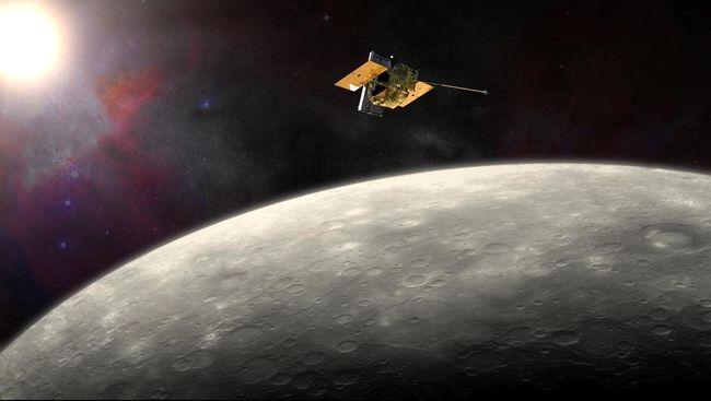 Peneliti Temukan Cincin Debu di Orbit Merkurius