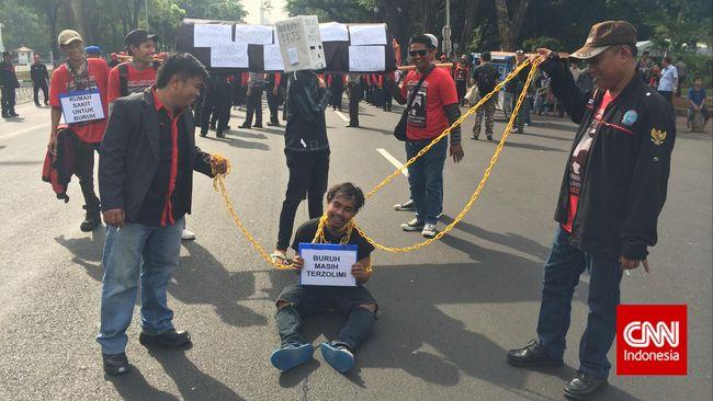 Tagih Janji Kampanye Jokowi, Buruh Suarakan 11 Tuntutan