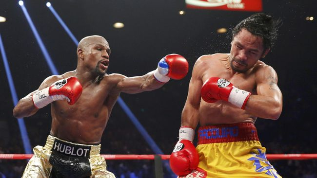 Legenda Tinju AS Dukung Mayweather Jr vs Pacquiao Jilid II