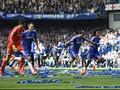 Potret Pesta Juara Liga Inggris di Stamford Bridge