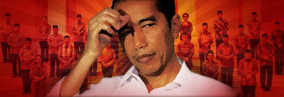 Utak Atik Rombak Menteri Jokowi