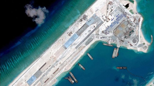 Jepang Tuduh China Paksakan Klaim di Laut Sengketa