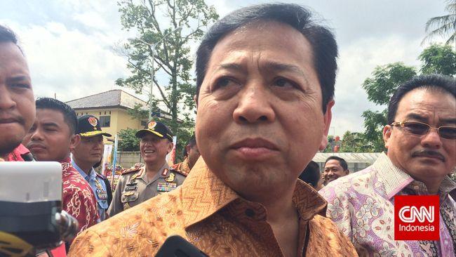 Setya Novanto Yakin Agung-Ical Usung Calon yang Sama